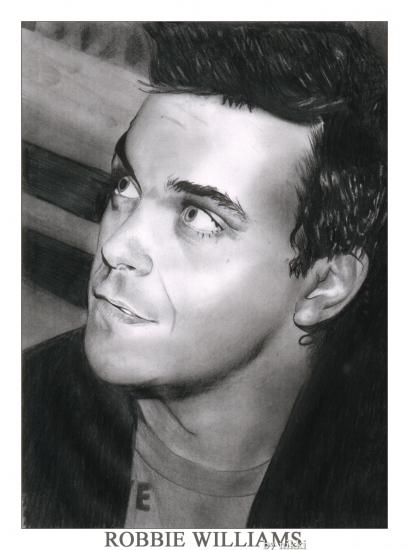 Robbie Williams par CursedLikeYou